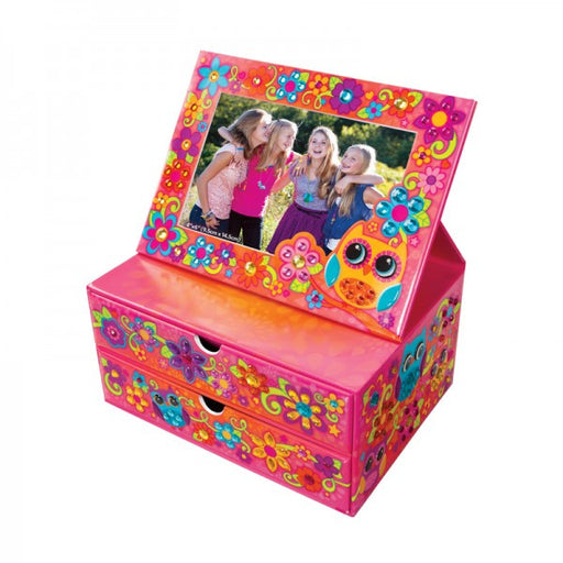 ORB Factory Sticky Mosaics Flip Frame Jewelry Box