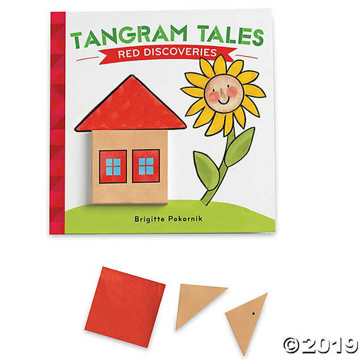 Mindwares Tangram Tales: Red Discoveries