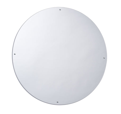 Whitney Brothers Round Acrylic Wall Mirror