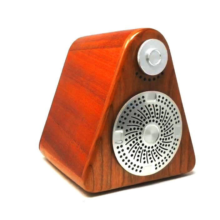 Cherry & Mahogany Bluetooth Speaker