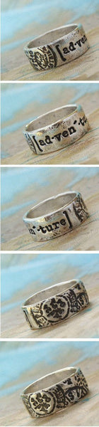 Adventure Sterling Silver Ring - HappyGoLicky Jewelry