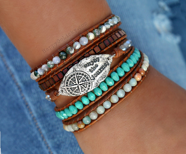 5x Wrap Bracelet by HappyGoLicky Jewelry