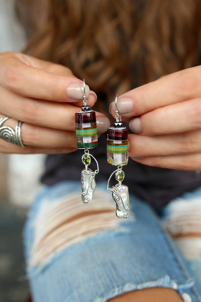 Recycled Surfboard Resin Jewelry by HappyGoLicky