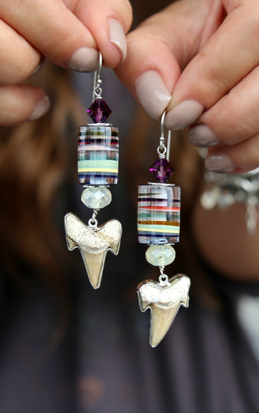 Surfite Jewelry Surfstone Earrings by HappyGoLicky Jewelry