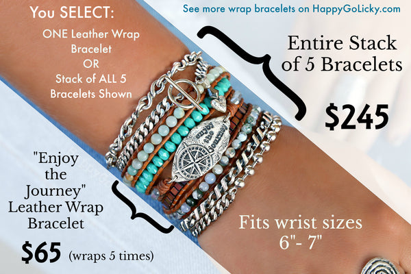 Sterling Silver Stacking Bracelets by HappyGoLicky Boho Jewelry
