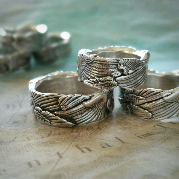 Best Boho Chic Silver Rings - HappyGoLicky Jewelry
