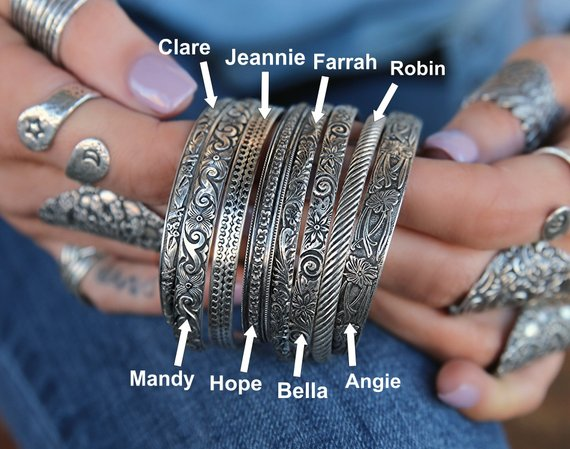 Stacking Bracelet Cuffs - HappyGoLicky Jewelry