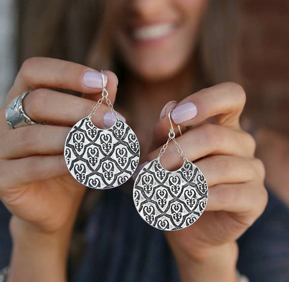 Moroccan Boho Earrings - HappyGoLicky Jewelry