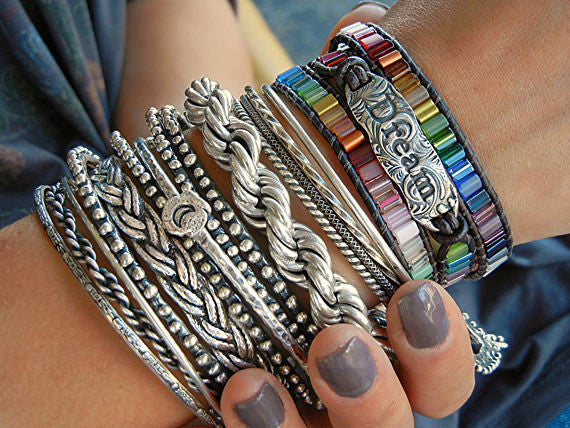 DREAM Leather Bohemian Bracelet