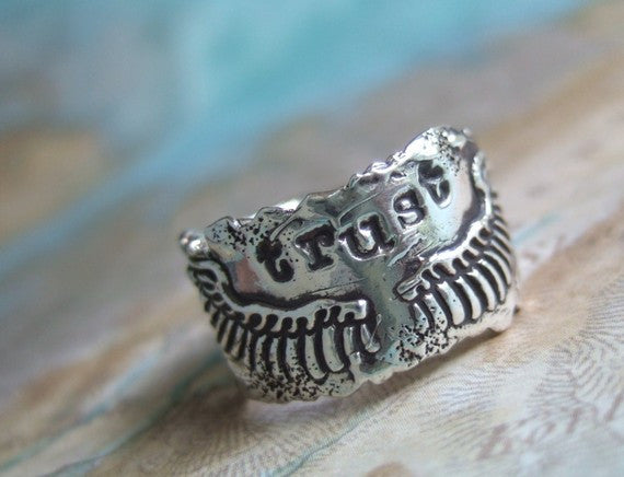 Trust Wings Ring - HappyGoLicky Jewelry
