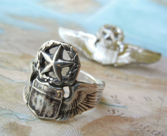 Pilot Wings Ring