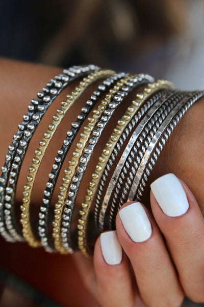 Bohemian Stacking Bracelets - HappyGoLicky Jewelry