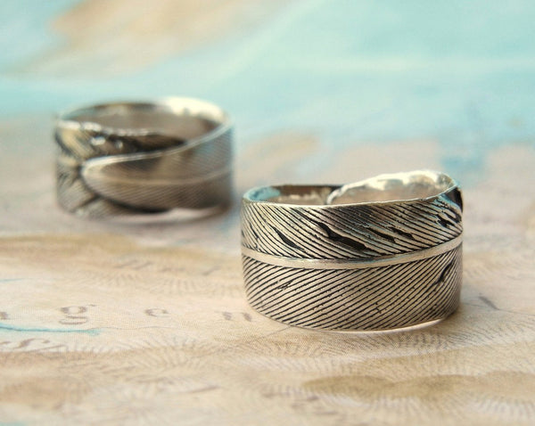 Feather Ring - HappyGoLicky Jewelry