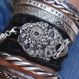 Bohemian Fashion Leather Bracelet