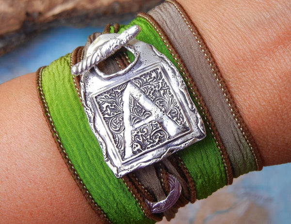 Friendship Monogram Bracelets - HappyGoLicky Jewelry