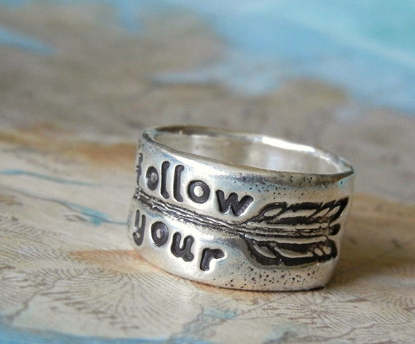 Follow Your Arrow Boho Ring - HappyGoLicky Jewelry