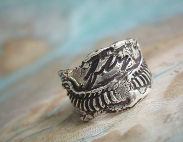 Modern Bohemian Jewelry Wings Ring - HappyGoLicky Jewelry