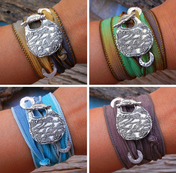 EXTRA Wrap Bracelet Replacement Silk Ribbons