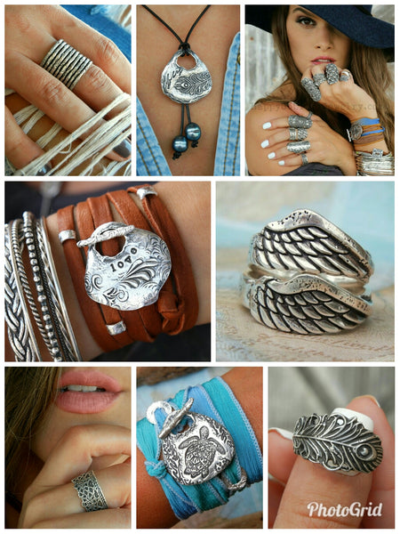 Nautical Braided Ring - HappyGoLicky Jewelry