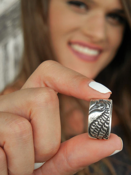 Seahorse Sterling Silver Beach Ring