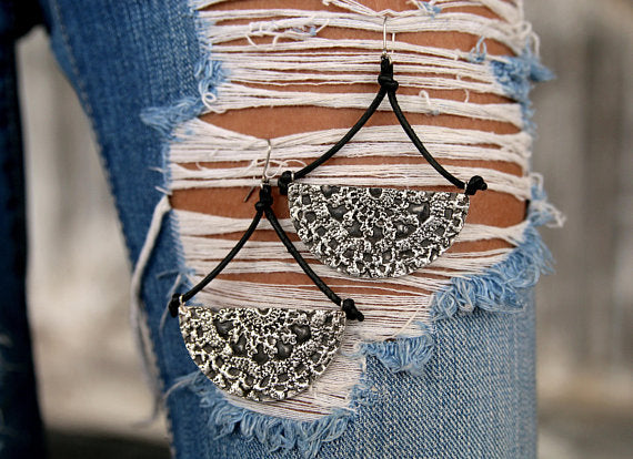 Bohemian Statement Earrings - HappyGoLicky Jewelry
