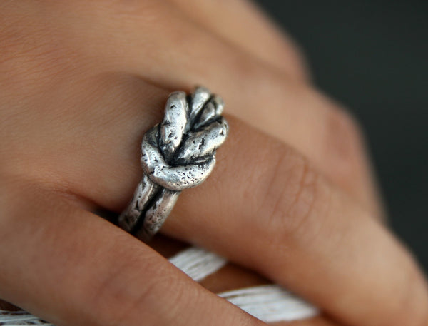 Nautical Jewelry Sterling Silver Rings by HappyGoLicky