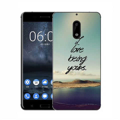 Soft TPU Back Cover for Nokia 3  5 6