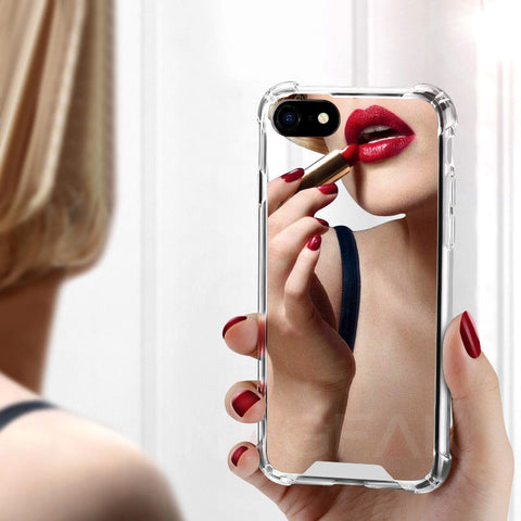 Mirror Phone Case For iPhone X 6 6S 7 7plus 8 Plus