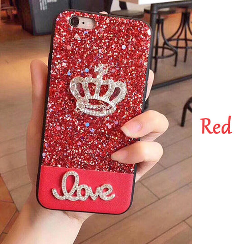 Luxury Crown Cover for iPhone 7  8  7 plus 8 plus