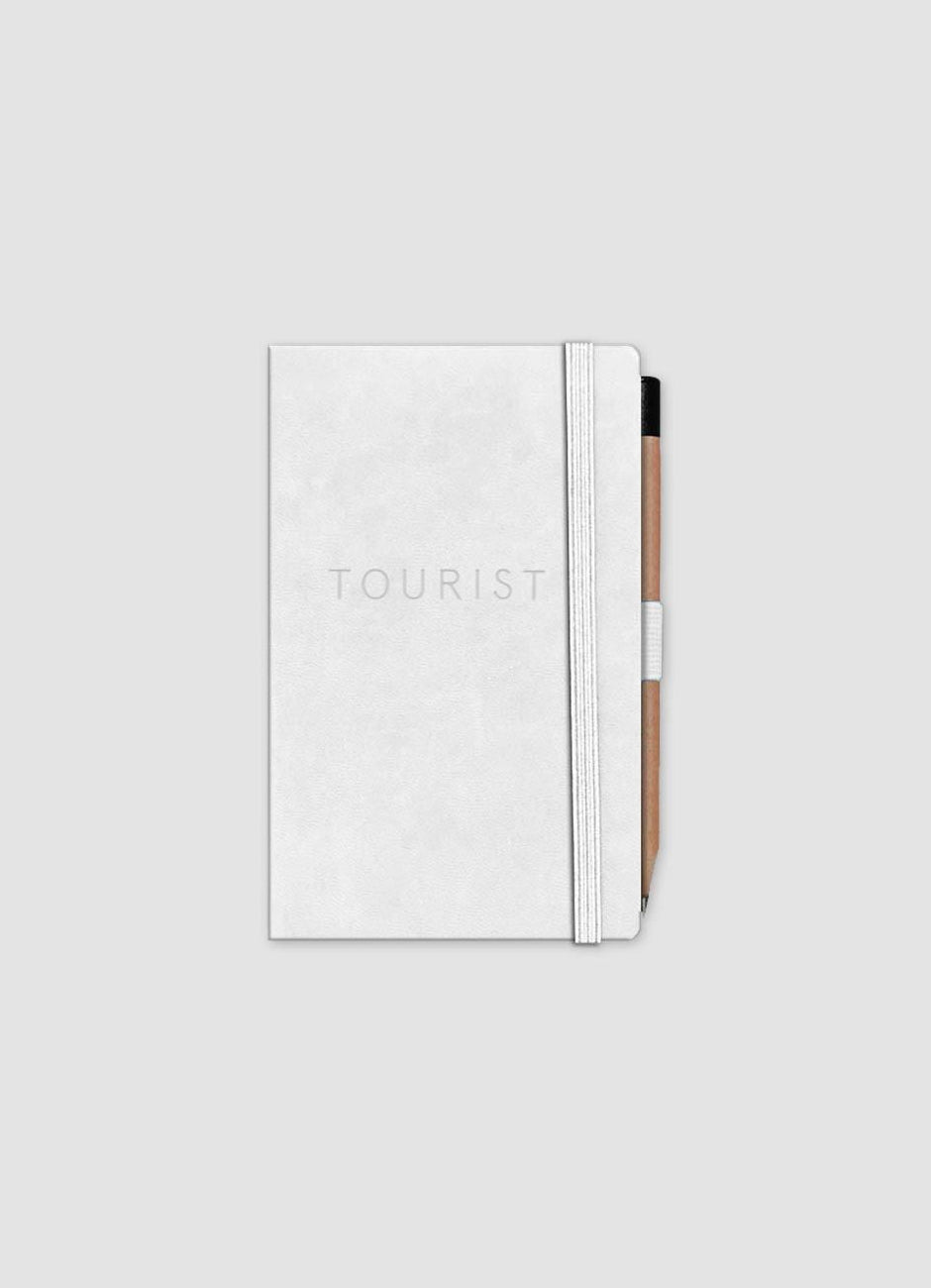 Tourist Debossed Logo Notebook