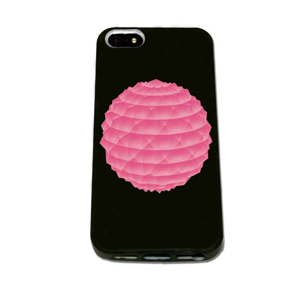 Pink Orb iPhone Case