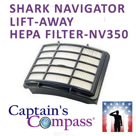 SHARK NAVIGATOR LIFT-AWAY HEPA FILTER-NV350