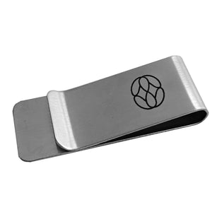 Money Clip Acero Inoxidable 5 X 2 Cms