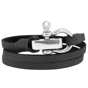 Pulsera - Lucca Black SM Stainless Steel