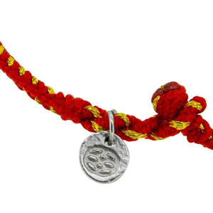 Pulsera - Pulsera Red Lucky New Beginnings 3 Mm Red