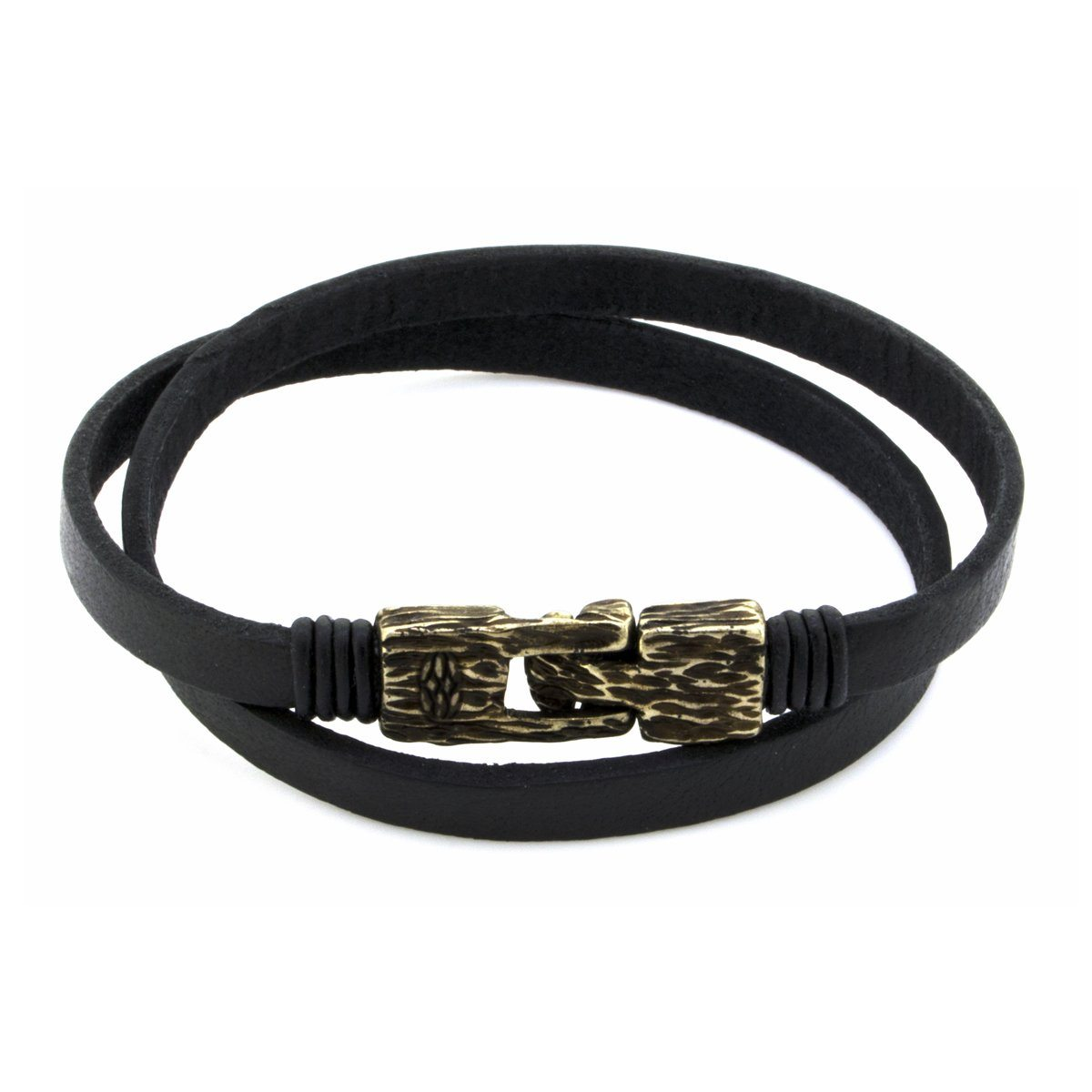 Pulsera - Vinci Black 6 MM Vintage