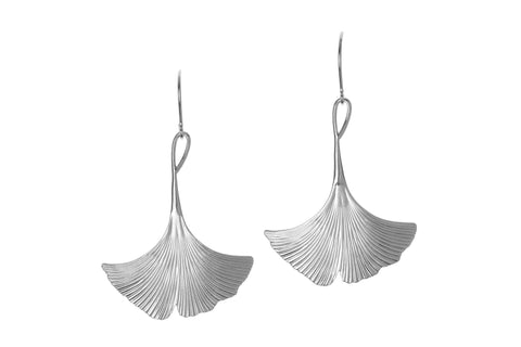Ginkgo Single Earrings