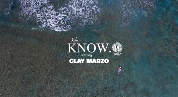 "Clay Marzo just dropped a new edit called ""You Know"" and you need to watch it!"