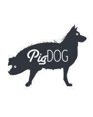 Pig Dog Super Surfboard Logo