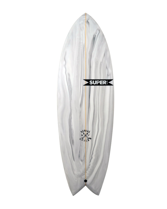 serial keeler twin fin top