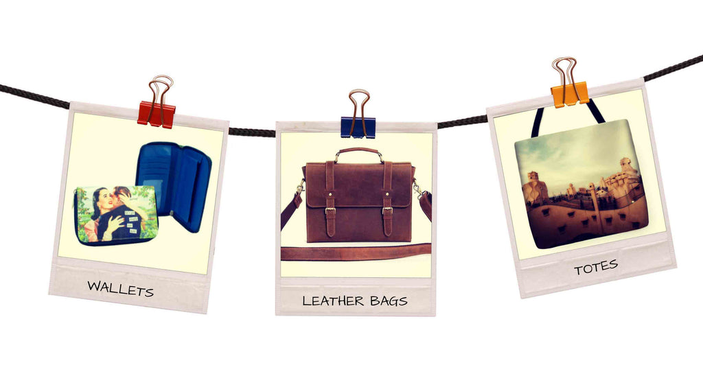 Leather Bags, Totes & Wallets