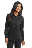 Business Ladies Tonal Pattern Easy Care Shirt by Port Authority®