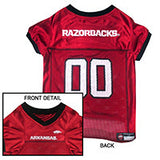 Arkansas Razorbacks Dog Jersey