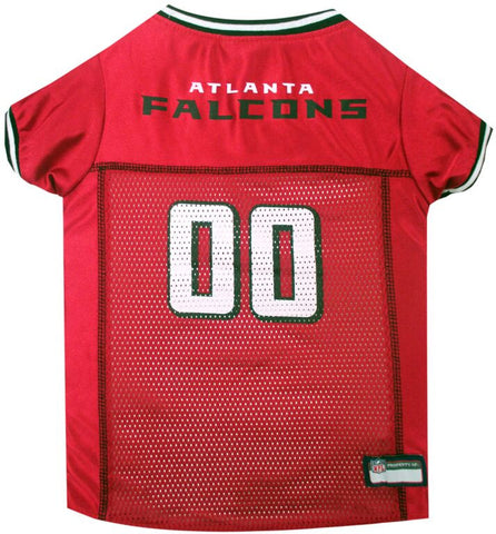 Atlanta Falcons Dog Jersey with Black Trim