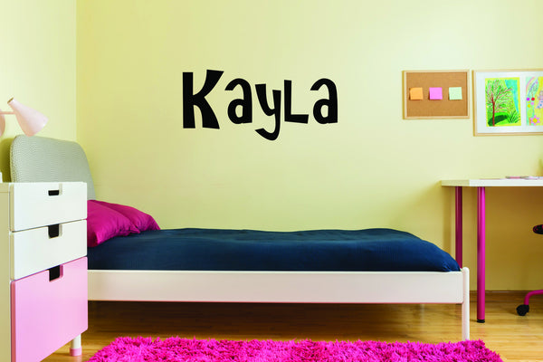 Child's Name Wall Decal