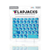 Flapjacks 2 Tone Teal Mac Keyboard Cover