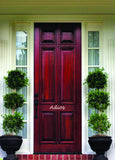 Front Door Decals - Adios
