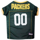 Green Bay Packers Jersey for Dogs