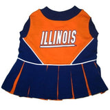 Illinois Fighting Illini Cheerleader Dog Dress