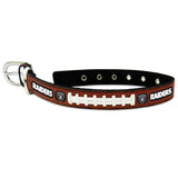 Oakland Raiders Dog Collar - Leather